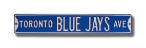 TORONTO BLUE JAYS AVE Street Sign