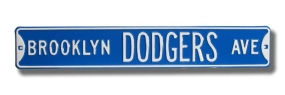 BROOKLYN DODGERS AVE Street Sign