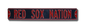 RED SOX NATION Street Sign