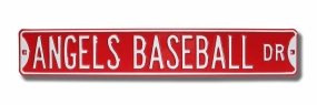 ANGELS BASEBALL DR Street Sign