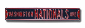 WASHINGTON NATIONALS AVE Street Sign