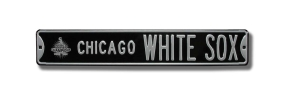 CHICAGO WHITE SOX with WS 2005 logo Street Sign