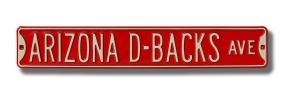 ARIZONA D-BACKS AVE Street Sign