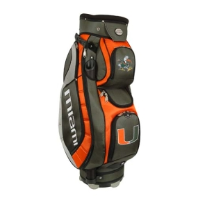 Miami Hurricanes Letterman's Club II Cooler Cart Golf Bag