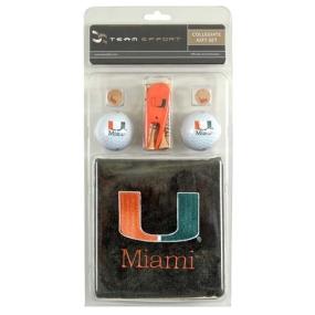 Miami Hurricanes Golf Gift Set