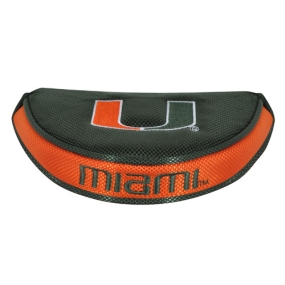 Miami Hurricanes Mallet Putter Cover