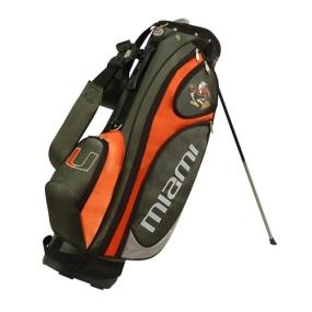 Miami Hurricanes GridIron Stand Golf Bag