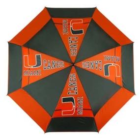 Miami Hurricanes Golf Umbrella