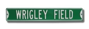 WRIGLEY FIELD Street Sign
