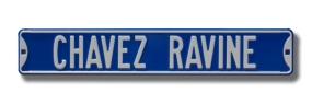 CHAVEZ RAVINE Street Sign