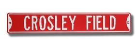 CROSLEY FIELD Street Sign