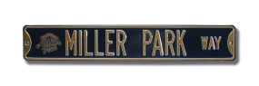 MILLER PARK  with 2002 All Star logo Street Sign
