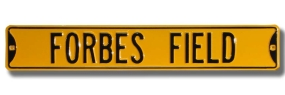 FORBES FIELD Street Sign
