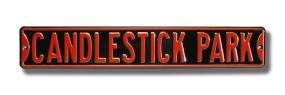 CANDLESTICK PARK Street Sign
