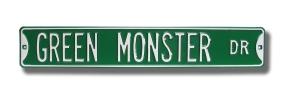 GREEN MONSTER DR Street Sign