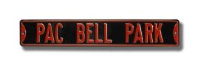 PAC BELL PARK Street Sign