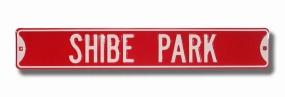 SHIBE PARK Street Sign
