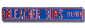 BLEACHER BUMS Street Sign