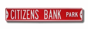 CITIZENS BANK PARK Street Sign
