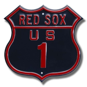 RED SOX US 1 Route Sign
