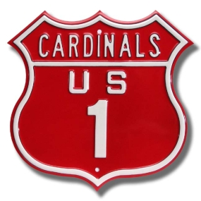 CARDINALS US 1 Route Sign