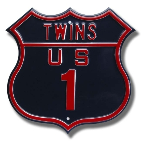 TWINS US 1 Route Sign