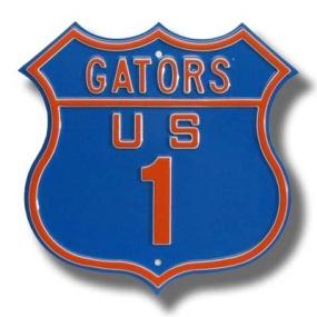 GATORS US 1 Route Sign