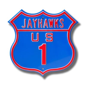 JAYHAWKS US 1 Route Sign