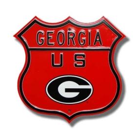 GEORGIA US Oval G logo Route Sign