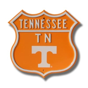 TENNESSEE UT logo Route Sign