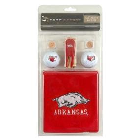 Arkansas Razorbacks Golf Gift Set