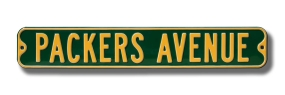 PACKERS AVENUE Street Sign