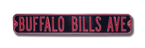 BUFFALO BILLS AVE Street Sign
