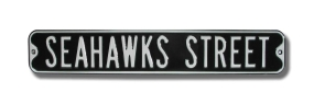 SEAHAWKS STREET Street Sign