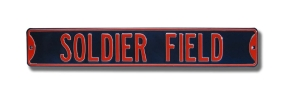 SOLDIER FIELD Street Sign