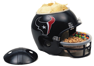 Houston Texans Snack Helmet