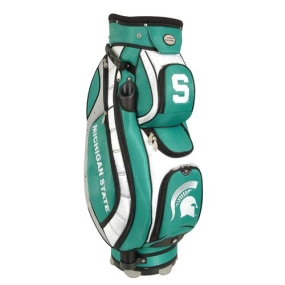 Michigan State Spartans Letterman's Club II Cooler Cart Golf Bag