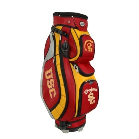 USC Trojans Letterman's Club II Cooler Cart Golf Bag