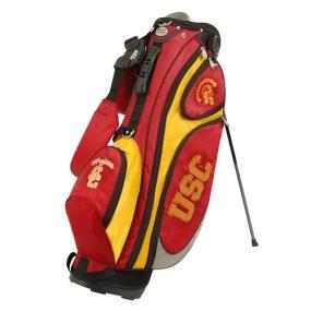 USC Trojans GridIron Stand Golf Bag