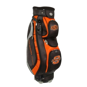 Oklahoma State Cowboys Letterman's Club II Cooler Cart Golf Bag