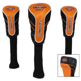 Oklahoma State Cowboys Nylon Golf Headcovers