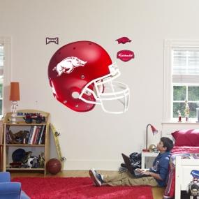 Arkansas Razorbacks Helmet Fathead