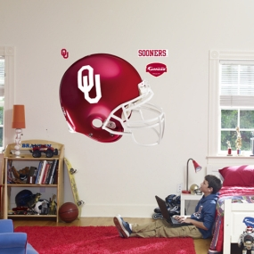 Oklahoma Sooners Helmet Fathead