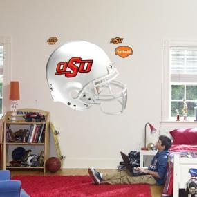 Oklahoma State Cowboys Helmet Fathead