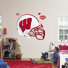 Wisconsin Badgers Helmet Fathead