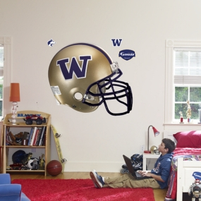Washington Huskies Helmet Fathead