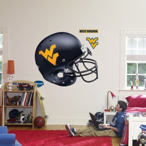 West Virginia Mountaineers Helmet Fathead