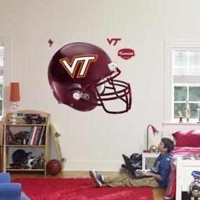 Virginia Tech Hokies Helmet Fathead