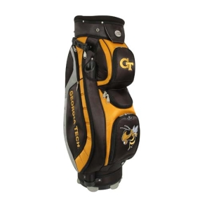 Georgia Tech Yellow Jackets Letterman's Club II Cooler Cart Golf Bag