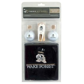 Wake Forest Demon Deacons Golf Gift Set